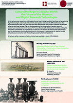 Cultural Heritage Lectures